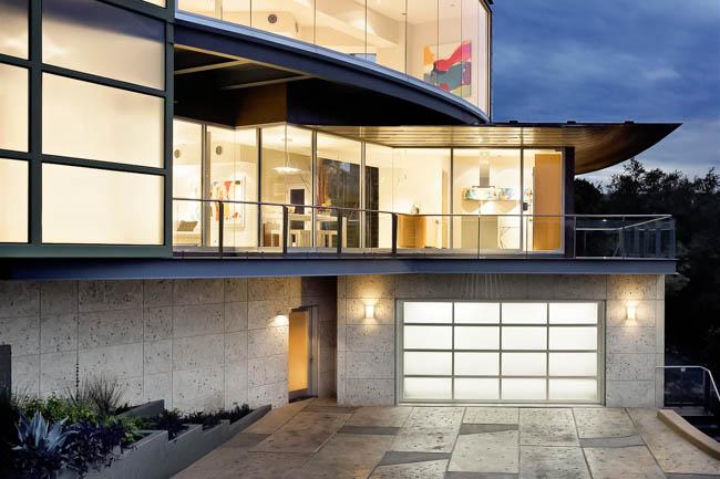 Modern Glass Garage Doors Clopay Avante Aluminum Glass
