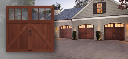 Garage doors vancouver new custom projects 778 655 0466 - Making a steel door look like wood ...