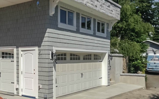 Garage Doors Vancouver - New & Custom Projects - (778) 655-0466 on door from garage into house, door from garage to house, garage entry door to house,
