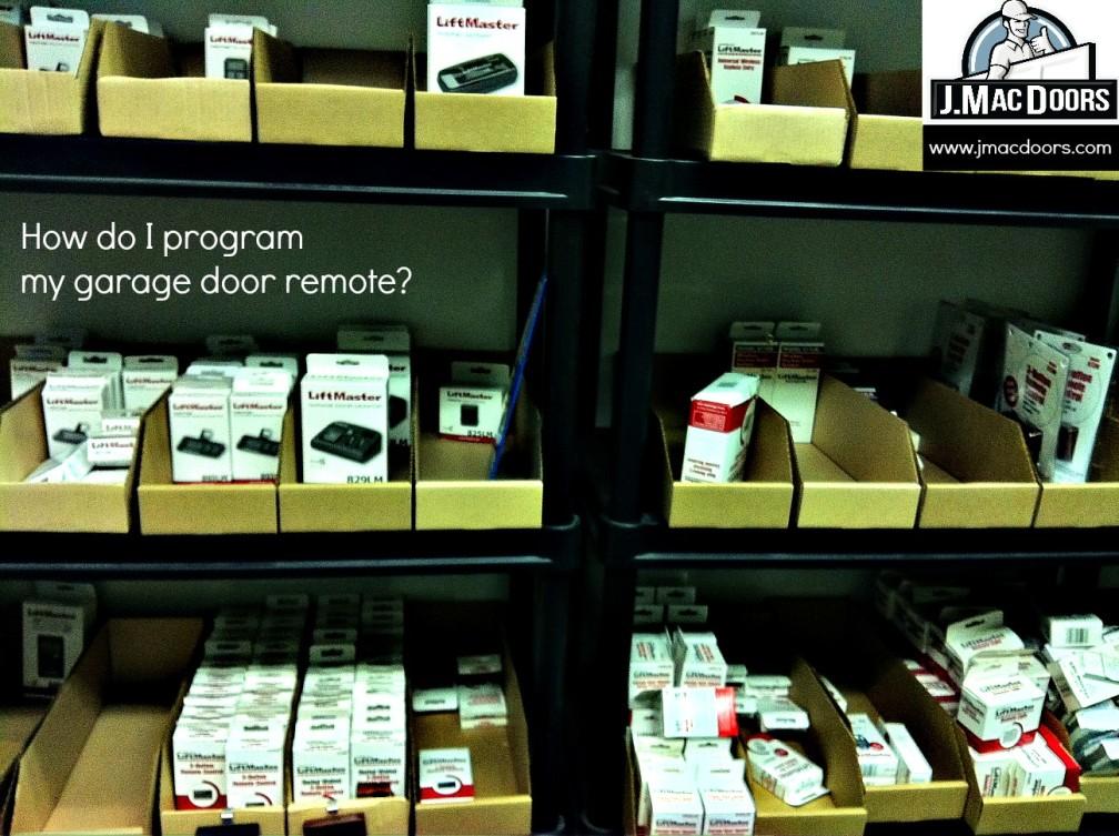 How Do I Program My Garage Door Remote